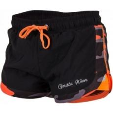 Gorilla Wear Denver Short (fekete-neon narancs) (1 db)