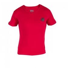 Gorilla Wear Essential V-Neck T-Shirt - Red női póló