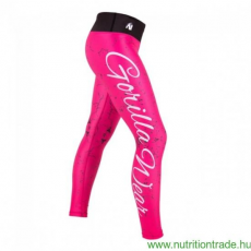 Gorilla Wear HOUSTON TIGHTS pink/fekete L leggings Gorilla Wear