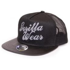 Gorilla Wear Mesh Cap baseball sapka (fekete) (1 db)