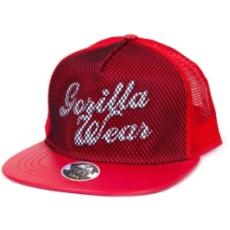 Gorilla Wear Mesh Cap baseball sapka (piros) (1 db)