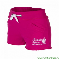 Gorilla Wear Női NEW JERSEY SWEAT SHORT pink L Gorilla Wear