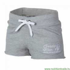 Gorilla Wear Női NEW JERSEY SWEAT SHORT szürke L Gorilla Wear
