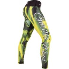Gorilla Wear Reno Tights (zöld-sárga) (1 db)