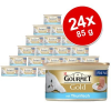 Gourmet Gold Paté 24 x 85 g - Tőkehal & sárgarépa