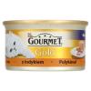 Gourmet Gold teljes értékű állateledel felnőtt macskáknak, pástétom pulykával 85 g
