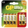 GP Ultra LR06 (AA) 4 + 2 db bliszter