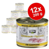 Grau ínyenctál vegyes csomag 12 x 200 g - Gabonamentes: pulyka, lazac & makréla