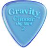 Gravity Picks GCLB2P Classic Big Mini 2.0mm Polished Blue