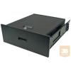 Great Lakes 7206-DR 4U kihúzható fiók rack szekrénybe, zárható (45 kg-ig)