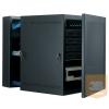 Great Lakes GL12WMS 12U 610 x 540 x 622 kétrészes fali rack szekrény, teli ajtóval