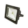 Greenlux LED reflektor 10W CW fekete lapos DAISY MCOB 10W GXDS100