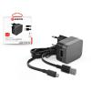 GRIFFIN Griffin USB hálózati töltő adapter + micro USB kábel 90 cm-es vezetékkel - Griffin PowerBlock Wall Charger - 5V/2,4A - black