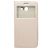 GSMOK Flip Case Magnet View oldalra nyíló Samsung Galaxy J5 (2017) tok, rose gold