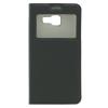 GSMOK Flip Case Smart Window oldalra nyíló Samsung Galaxy A3 (2016) tok, fekete