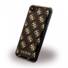 Guess iPhone 7/8 4G Soft hátlap, tok, fekete
