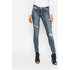 GUESS JEANS - Farmer Jegging - kék