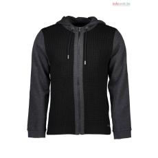 GUESS JEANS férfi fekete-szürke kapucnis pulóver WH2-M63R35Z1CG0_A996