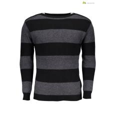GUESS JEANS Férfi pulóver fekete csíkos WH2-M73R46Z1KT0_FU79
