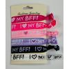Gumis BFF barátság karkötő