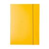 GUMIS mappa, 15 mm, karton, A4, ESSELTE Economy, sárga 10db/csomag
