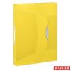 GUMIS mappa, 40 mm, PP, A4, ESSELTE Vivida Jumbo, Vivida sárga