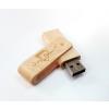 Gungldekor Kihajthatós fa 16GB-os pendrive egyedi gravírozott szöveggel