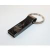Gungldekor Metálszürke 32GB-os pendrive kulcstartós masszív strapabíró fémvázas egyedi gravírozott felirattal