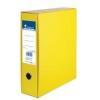 - gyártó nem ismert - Tokos iratrendező, 75 mm, A4, karton, VICTORIA, sárga