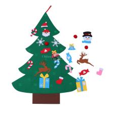 Gyerekszobába karácsonyfa szett filcből karácsonyi dekoráció