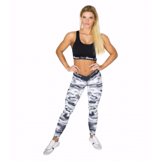 GymBeam Camo White női leggings - GymBeam M