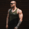 GymBeam Flexin Military Green atléta - GymBeam L