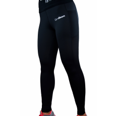 GymBeam Mesh Black női leggings - GymBeam S
