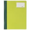 Gyorsfűző Durable A/4 PVC azonos előlappal extra széles zöld