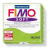 Gyurma, 56 g, égethető, FIMO Soft, alma zöld (FM802050)