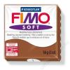 Gyurma, 56 g, égethető, FIMO Soft, karamell (FM80207)