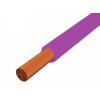 H05V-K 1x0,75 mm2 Lila PVC szigetelésű sodrott réz Mcs-kh vezeték