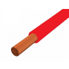 H05V-K 1x0,75 mm2 Piros PVC szigetelésű sodrott réz Mcs-kh vezeték