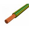 H07V-K 1x1,5 mm2 Zöld/Sárga PVC szigetelésű sodrott réz Mkh