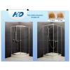 H2O Projecta 90x90 íves zuhanykabin, átlátszó üveggel, zuhanytálcával, szifonnal