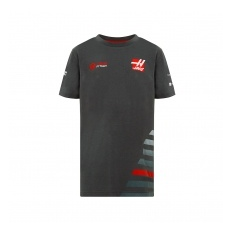 Haas F1 Team gyerek póló grey 2018 - 128 cm (gyerek)