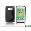 Haffner Alcatel One Touch Fire 4012 szilikon hátlap - S-Line - fekete