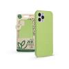 Haffner Apple iPhone 12/12 Pro hátlap környezetbarát, 100%-ban biológiailag lebomló anyagból - Forcell Bio Zero Waste Case - zöld