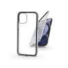 Haffner Apple iPhone 12 Mini mágneses, 2 részes hátlap előlapi üveggel - Magneto 360 - ezüst