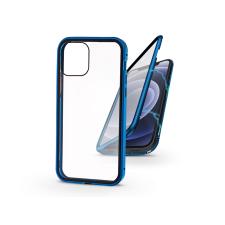 Haffner Apple iPhone 12 Mini mágneses, 2 részes hátlap előlapi üveggel - Magneto 360 - kék mobiltelefon kellék