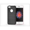 Haffner Apple iPhone 5/5S/SE szilikon hátlap - Carbon - fekete