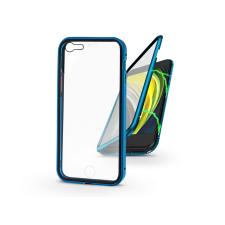 Haffner Apple iPhone 7/iPhone 8/SE 2020 mágneses, 2 részes hátlap előlapi üveggel - Magneto 360 - kék tok és táska