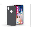 Haffner Apple iPhone X szilikon hátlap - Soft - fekete