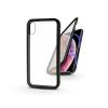 Haffner Apple iPhone X/XS mágneses, 2 részes hátlap előlapi üveggel - Magneto 360 - fekete