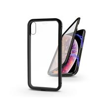 Haffner Apple iPhone X/XS mágneses, 2 részes hátlap előlapi üveggel - Magneto 360 - fekete tok és táska